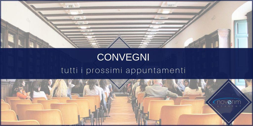 CALENDARIO CONVEGNI INVERNO - PRIMAVERA 2020